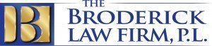 the broderick law firm, p.l. logo