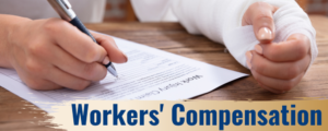 injured worker completing south florida workers compensation form